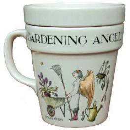 Gardening Angel Anti-bug Mug