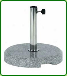 Granite Round Parasol Base