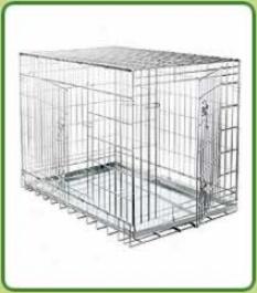 Indoor Kennel/car Crate 76x56x58cm