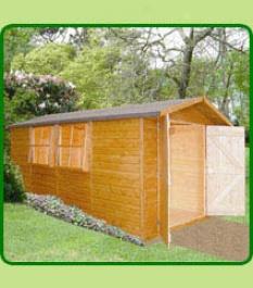 Jersey Apex Garden Shed 7 X 13'