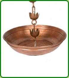 Rain Chain Water Collection Bowl