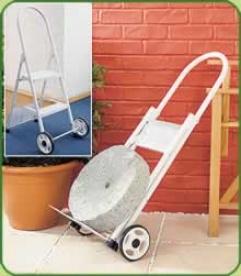 Step Ladder & Sack Trolley