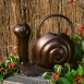 Bronze Snail Watering Can 1.5 litre