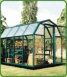 """Professional� Acrylic & Polycarbonate 14'8�x 8'6� Complete Greenhouse"