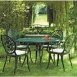 Rose Table & 4 Chairs Set