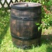 Wine Barrel Water Butt 360 litre with Filter and Extraction Hose