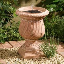 Windsor Urn Solar Water Feature