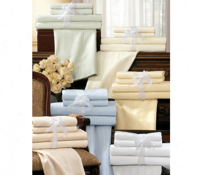 600-thread Ct. Egyptian Cotton Sateen Sheet Sets