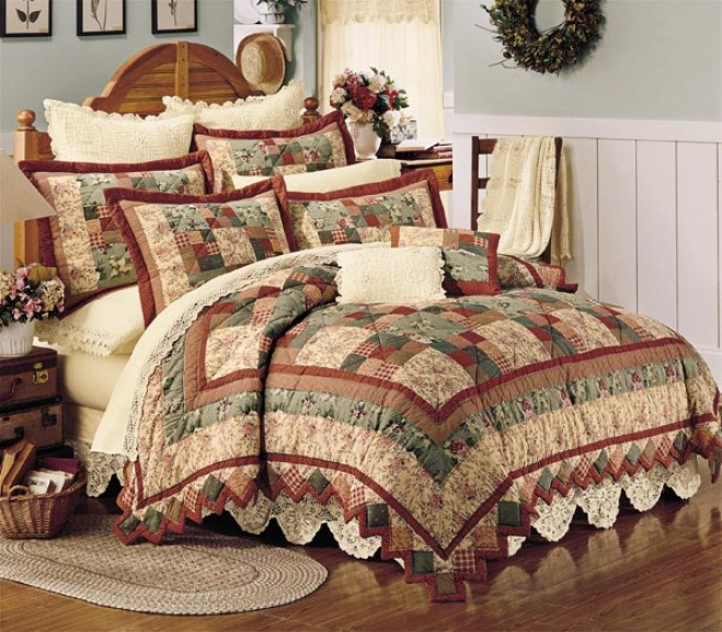 Ansonia Valley Quilt With Shams