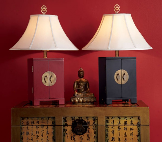 Asian-styled Lamp
