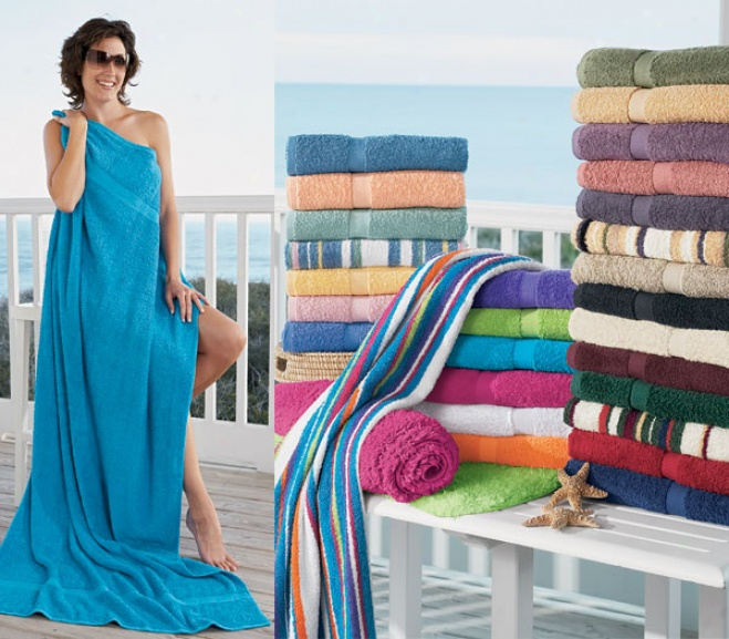 Big And Thirsty Ringspun Cotton Towels