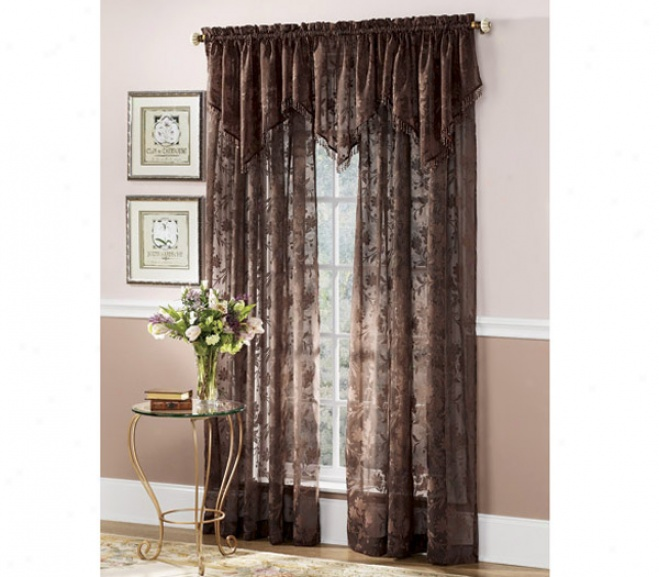Cassie Flocked Voile Panels