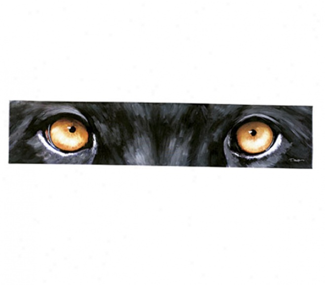 Panther Eyes Wall Art