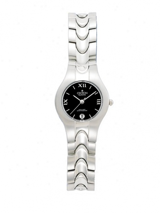 Ladies Elegant Stainless Steel Watch