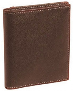 Johnston & Murphy Tumbled Leather Wallets Compact Wallet - Tumbled Leather #jm116tmb