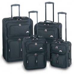 Traveler's Choice Yukon 4 Piece Baggage Set #rl6000