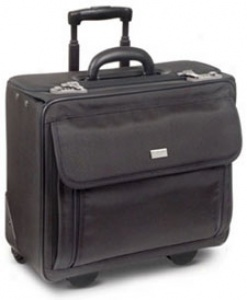 Us Luggage Wheeled Computer Cases Ballistic Rolling Computer-friendly Catalog Case #v77