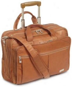 Us Luggage Wheeled Computer Cses Full Grain Leather Computer Portfolio #d529