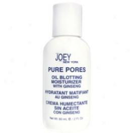 Joey New York Pure Pores Oil Blotting Moisturizer 2 Oz Bottle