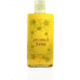 Juara Tiare Jasmine Tea Bath & Shower Gel 12 Oz