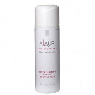Alaur Retexturizing Aha-10 Body Lotion