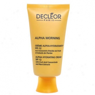 Decleor Alpha Morning Alpha Hydrating Cream Spf 12