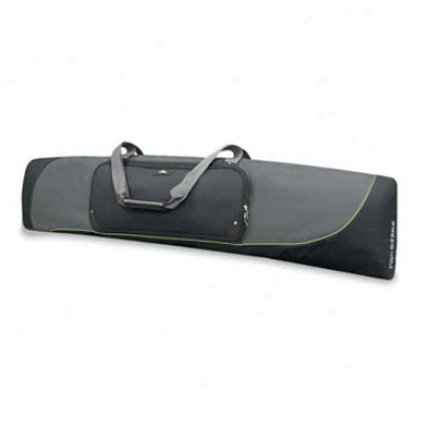 At3 Single Padded Snowboard Bag Graphite