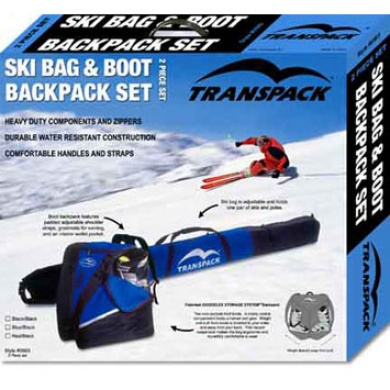 Box Set Boot/ski Bag Blue/black