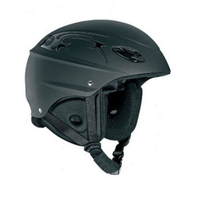 Exhibition Helm Toxicc Black/chrome Xlarge 60cm
