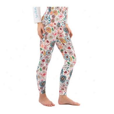 Flora Long Pant White Medium