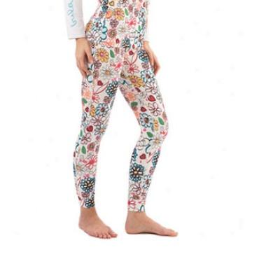 Flora Long Pant White Mean