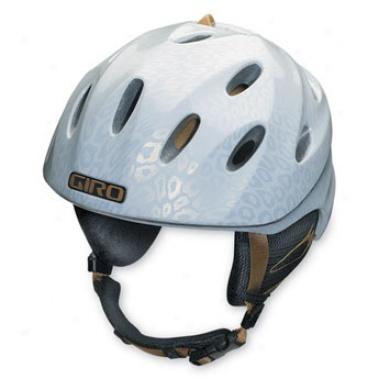 Giro Fuse Ski/snowboard Helmet White God Leopard