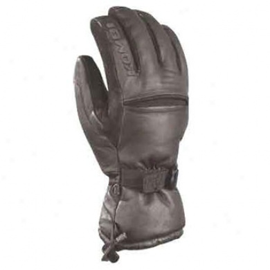 Men's Knuckle Down Ski/snow Glove Black Small