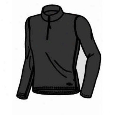 Men's Micro-elite Zip-t Top Black Medium