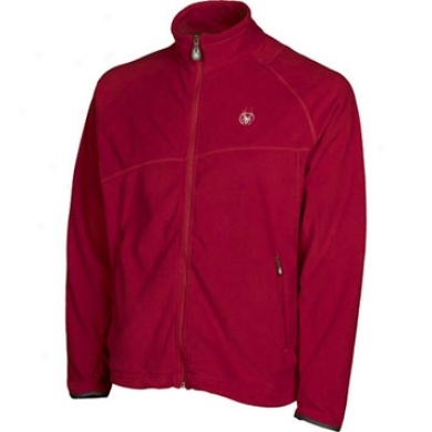 Mens Payback Fleece Jacket Red 2xl
