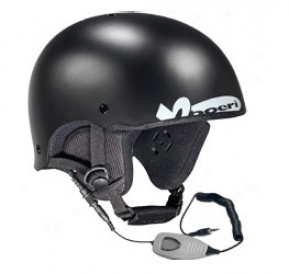 Men's Roller Helm W/ Audio Black Matte Large
