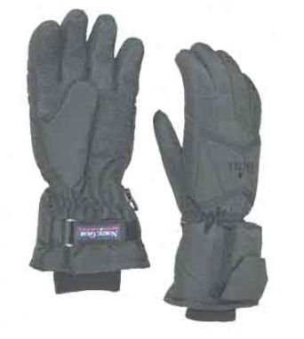 Ngs Lectra Gloves Battery Heated Black Means