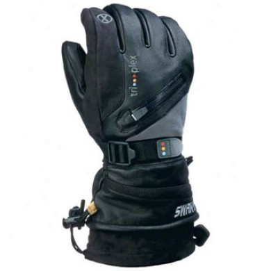 Sx15x Mens Glove Black/gray Xlarge