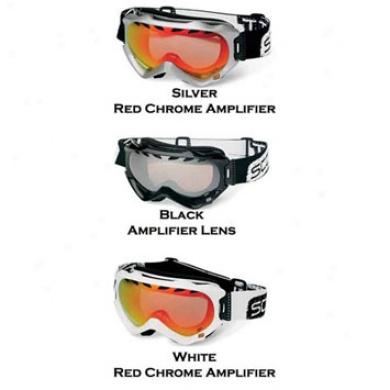 Witness Stare White/red Chrome Amp Lens