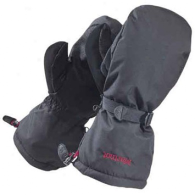 Women's Randonee Ski/snow Mitten Black Medium
